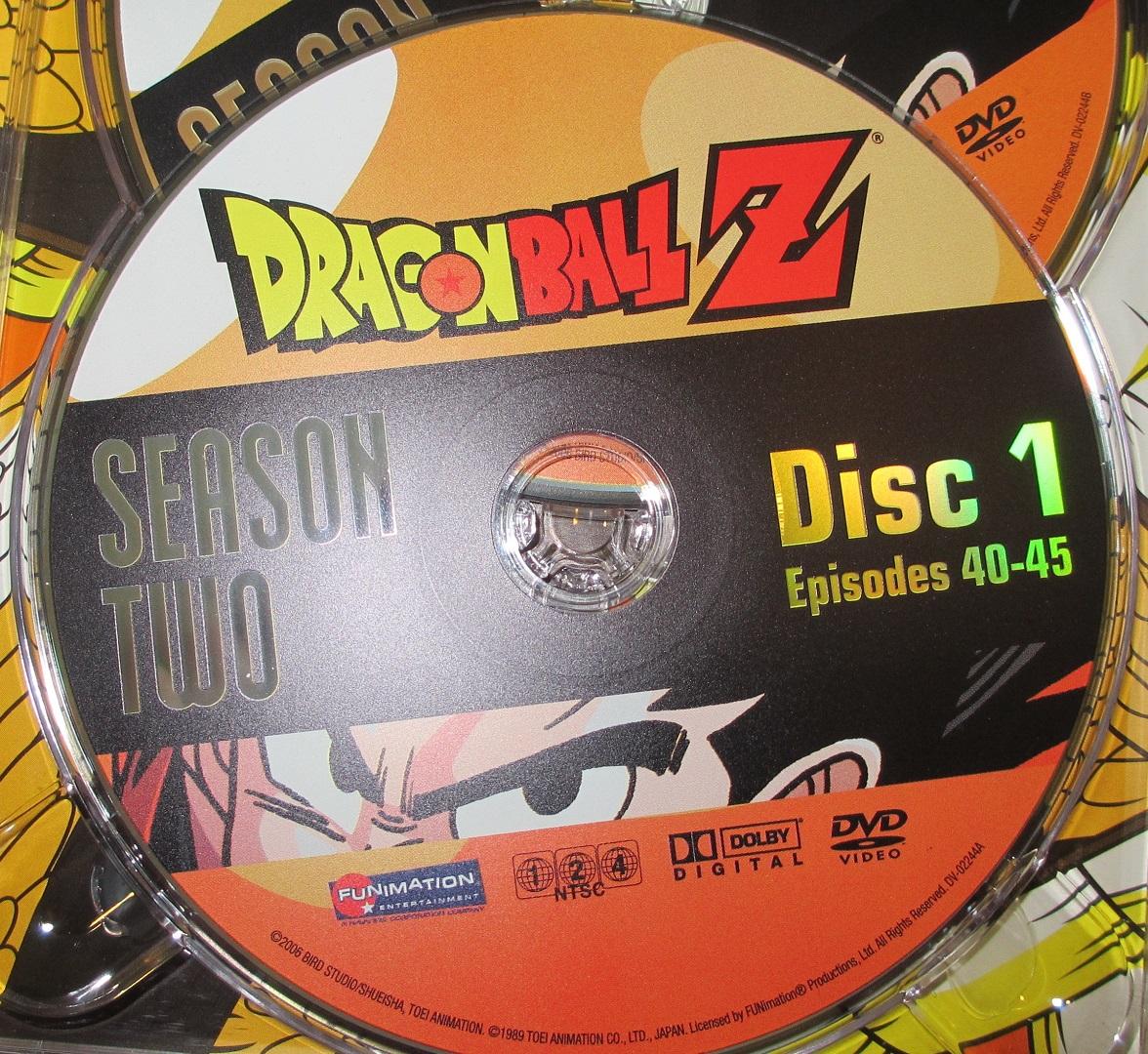 Original Dragon Ball Z Season 2 Disc 1